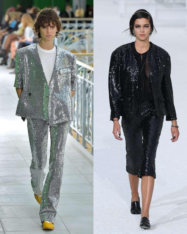 Women's trouser suits 2021 photo # 6