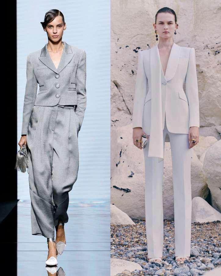 Women's trouser suits 2021 photo # 9