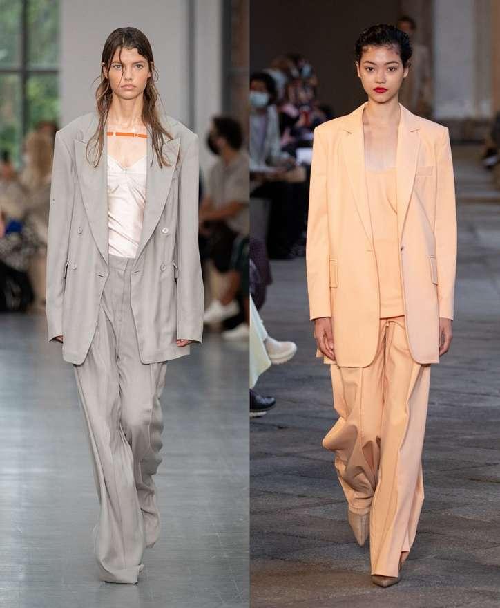Women's trouser suits 2021 photo # 10