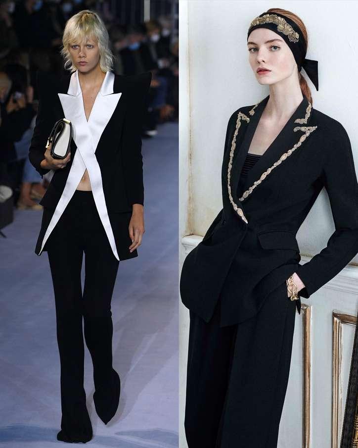 Women's trouser suits 2021 photo # 8
