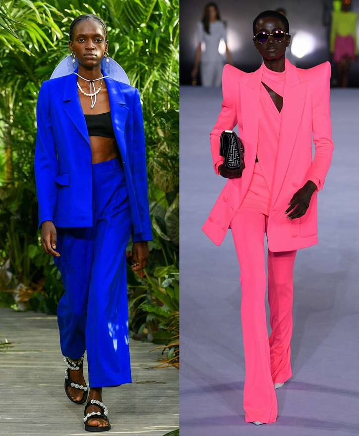 Women's trouser suits 2021 photo # 4