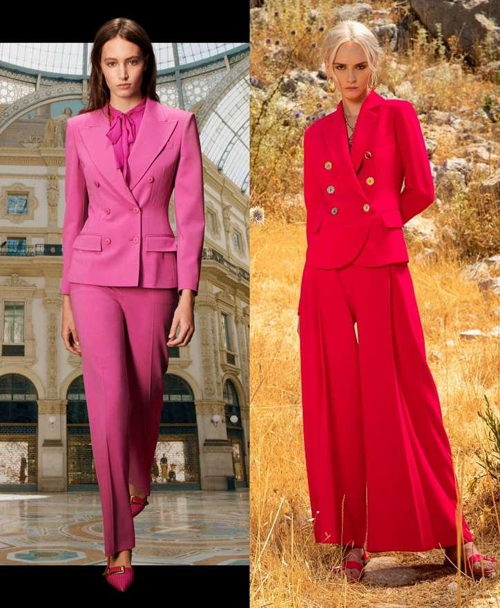 Women's trouser suits 2021 photo # 5