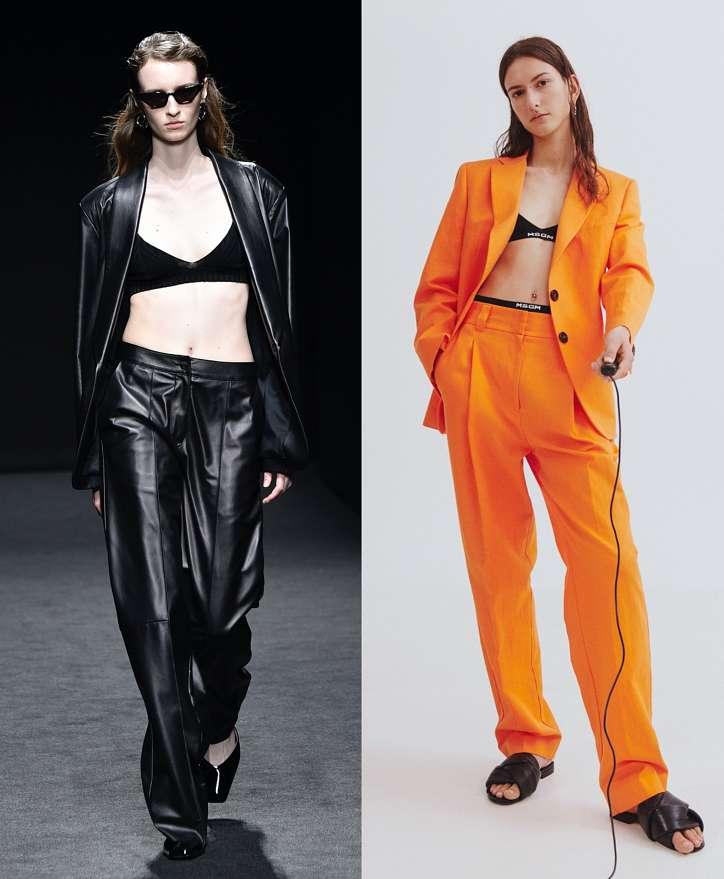 Women's trouser suits 2021 photo # 2
