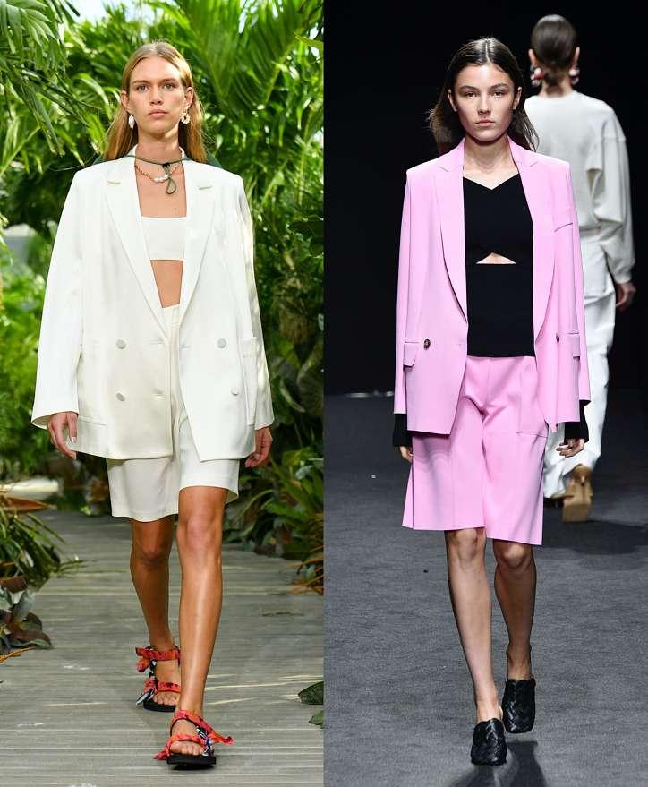 Women's trouser suits 2021 photo # 17