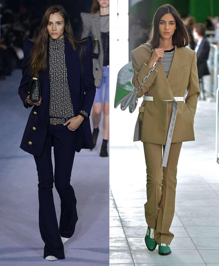 Women's trouser suits 2021 photo # 12