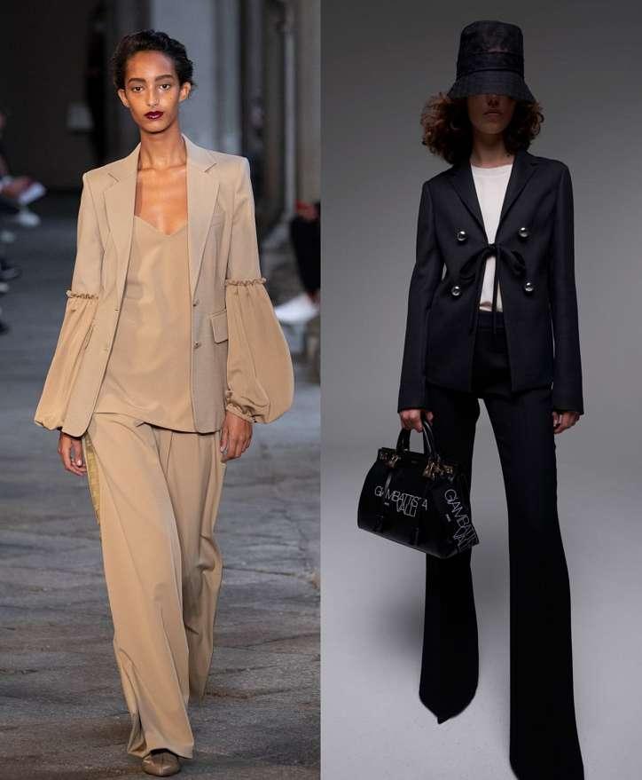Women's trouser suits 2021 photo # 14