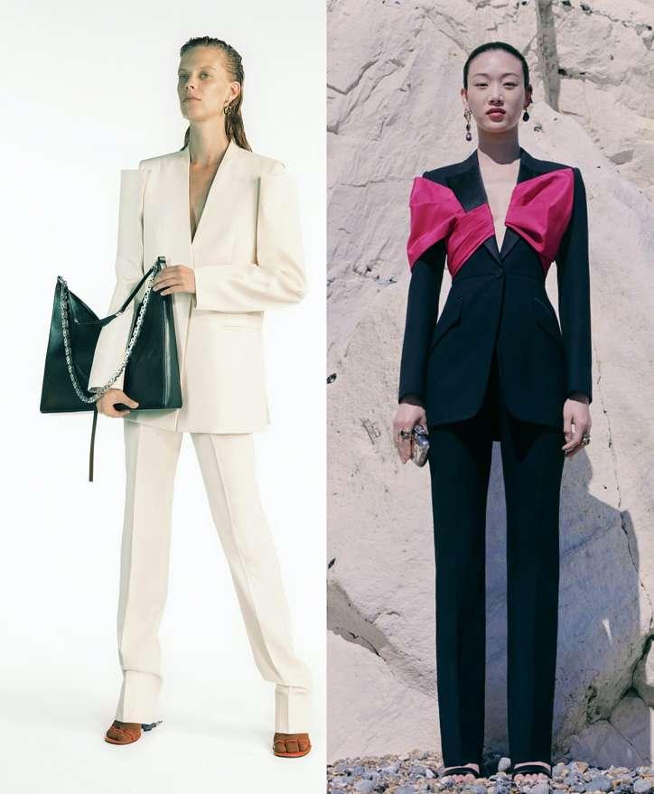 Women's trouser suits 2021 photo # 13