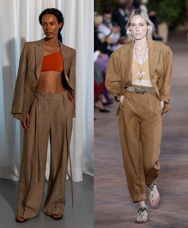 Women's trouser suits 2021 photo # 11