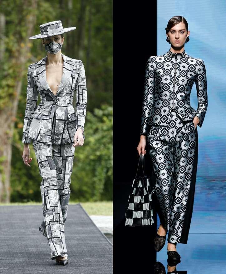 Women's trouser suits 2021 photo # 21