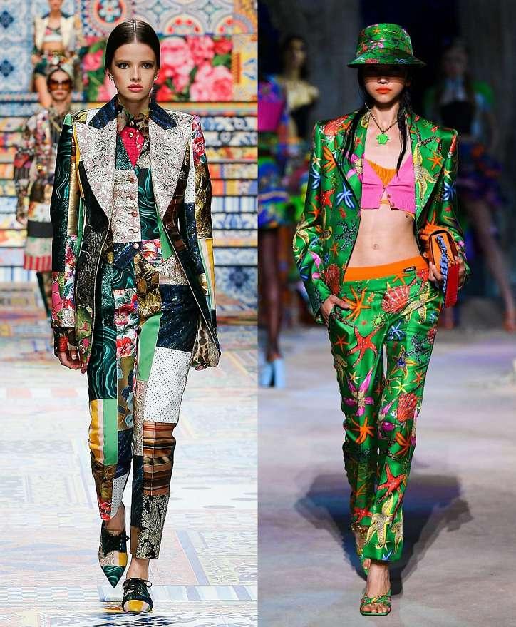 Women's trouser suits 2021 photo # 20