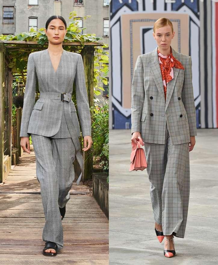 Women's trouser suits 2021 photo # 19