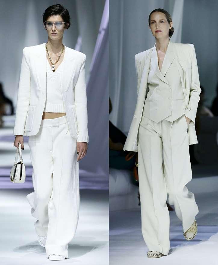 Women's trouser suits 2021 photo # 24