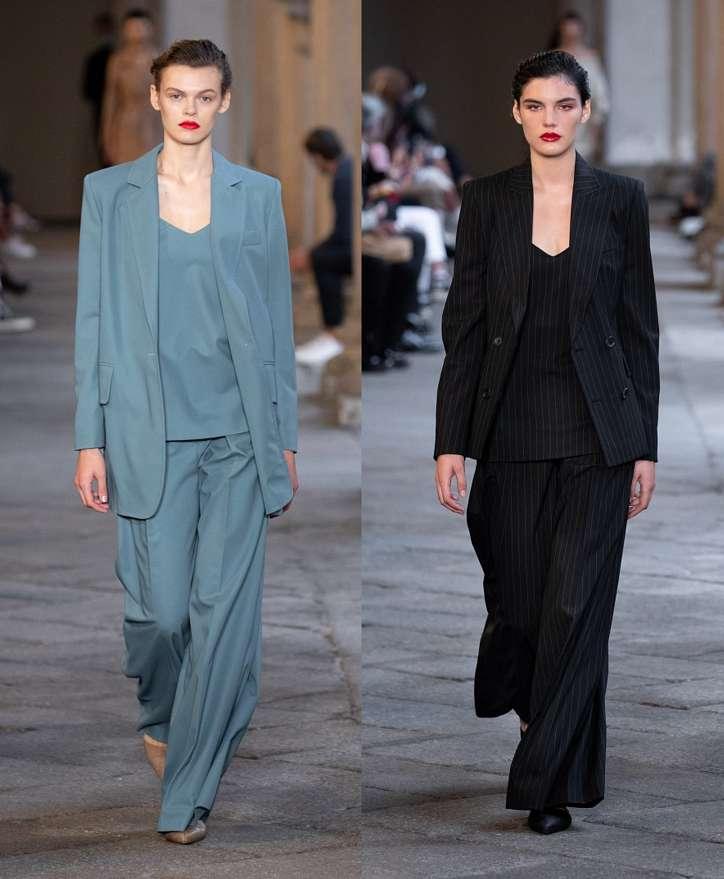 Women's trouser suits 2021 photo # 22
