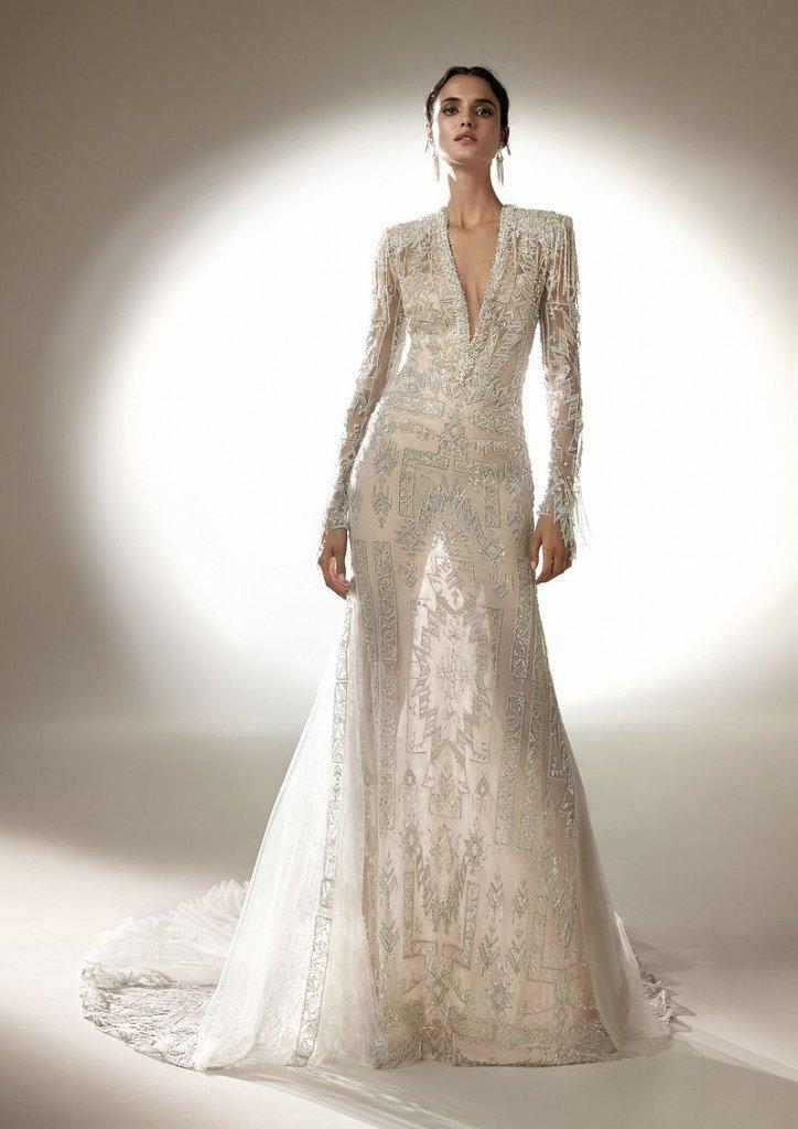 Collection of wedding dresses Atelier Pronovias 2021 photo # 7