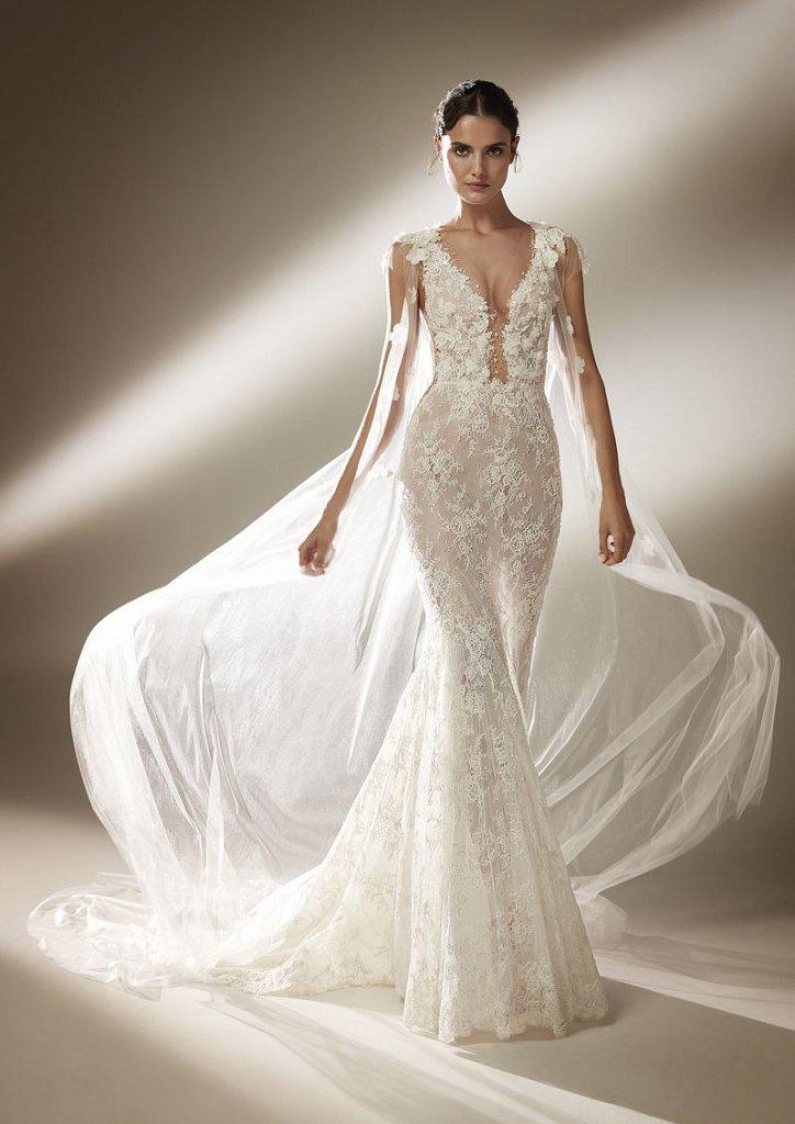 Collection of wedding dresses Atelier Pronovias 2021 photo # 9