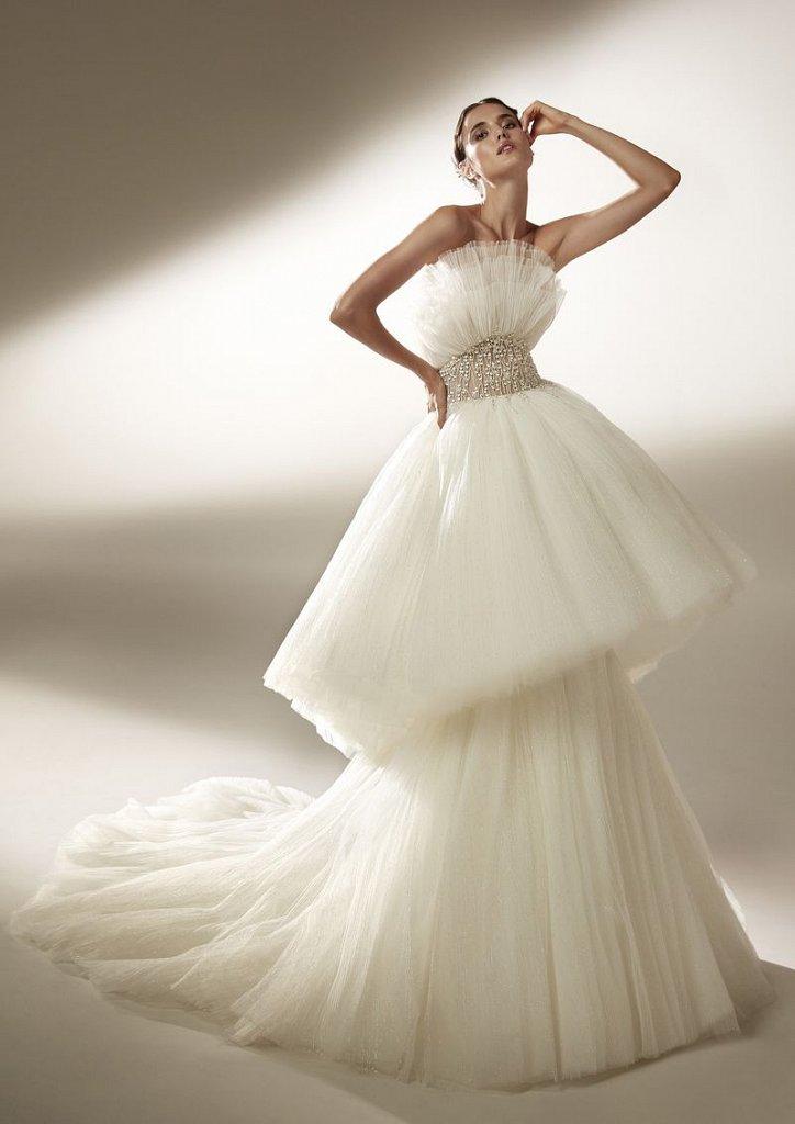Collection of wedding dresses Atelier Pronovias 2021 photo # 6