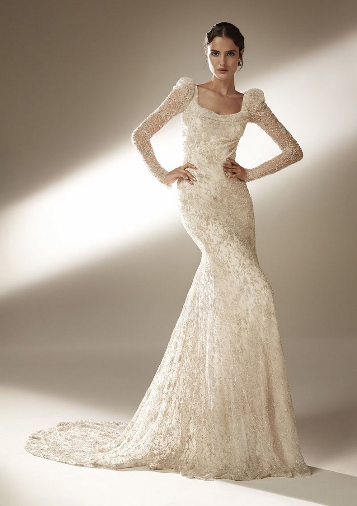 Collection of wedding dresses Atelier Pronovias 2021 photo # 12