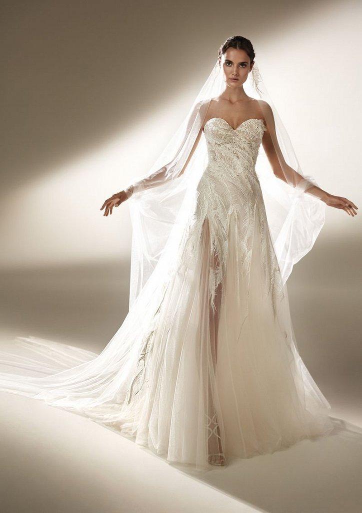 Collection of wedding dresses Atelier Pronovias 2021 photo # 19