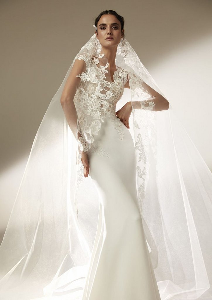 Collection of wedding dresses Atelier Pronovias 2021 photo # 20