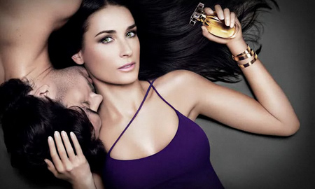 Actress Demi Moore is the face of Helena Rubinstein's Wanted