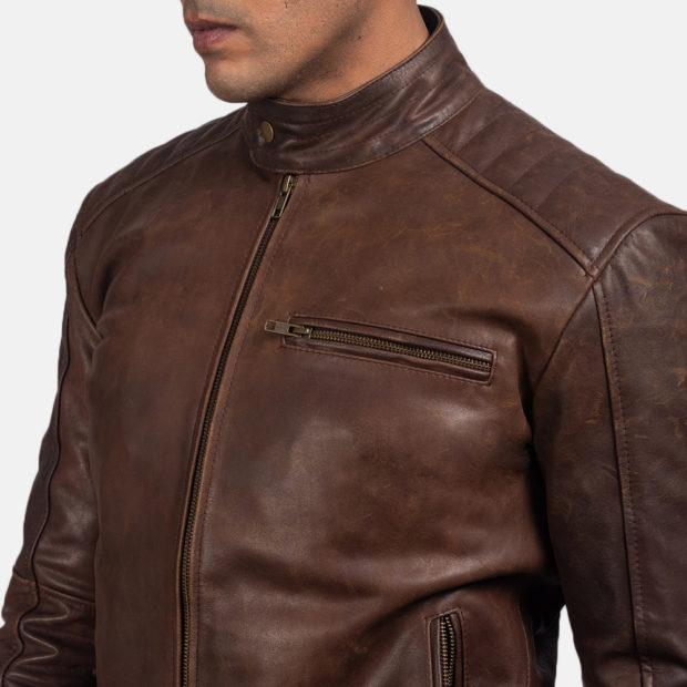 fashion mens leather jackets 2021
