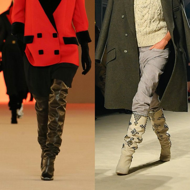 Fashionable boots 2021: trends and news photo # 1