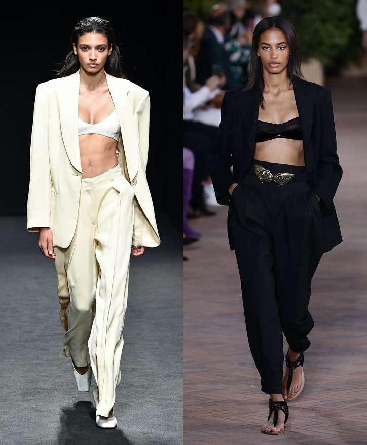 Women's trouser suits 2021 photo # 1