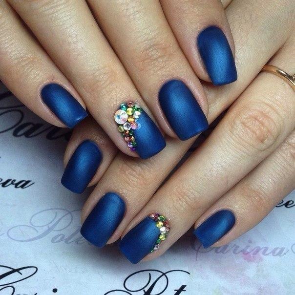 matt blue