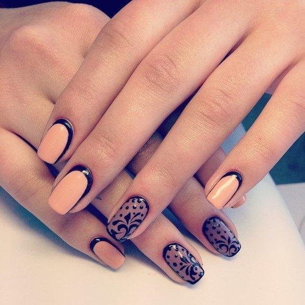 beige-black