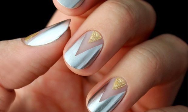 geometric metallic