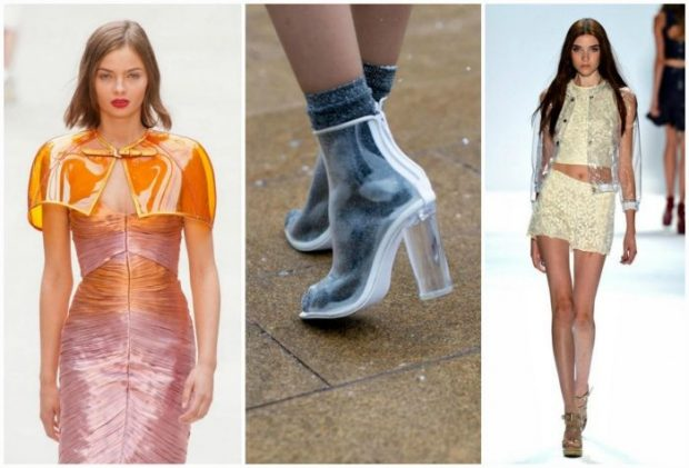 fashion trends with transparent inserts