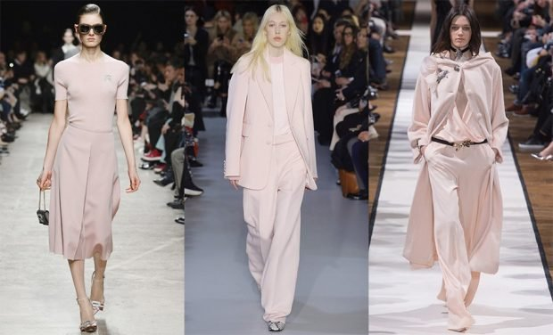 fashion trends summer 2021 in powdery colors