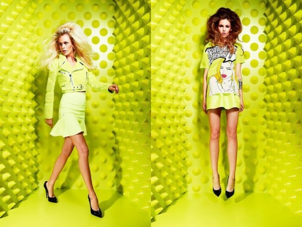 lime bow skirt and blouse dress short