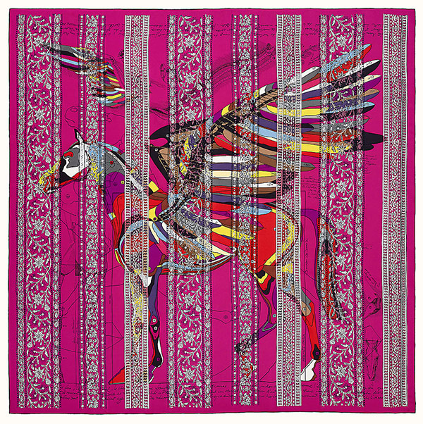 The most expensive Hermès scarf in the brand's online store.  Price - $ 7 800