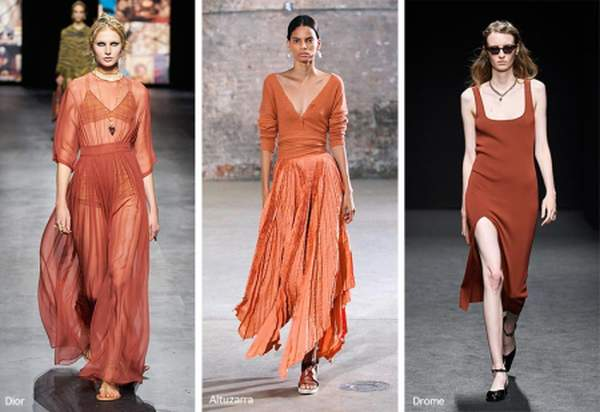 Shade of rust - trendy color for spring-summer 2021