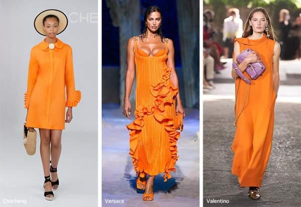"""Shade of orange """"marigold"""""""