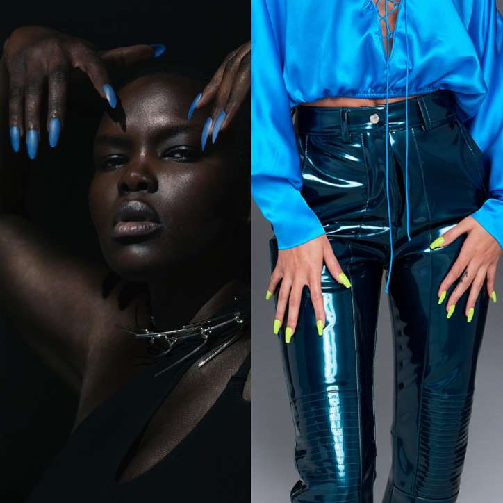 Fashionable manicure spring-summer 2021: trends and novelties photo # 9