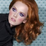 fashionable makeup for redheads