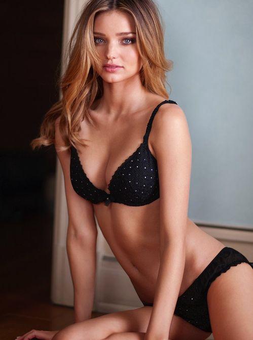 black lingerie set