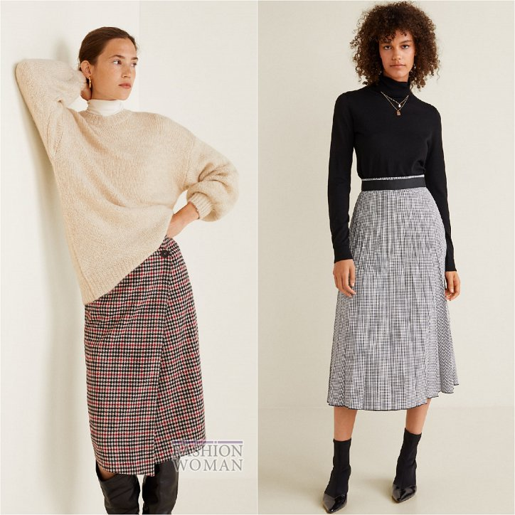 With what to wear a skirt in a cage: ideas for a note photo №11
