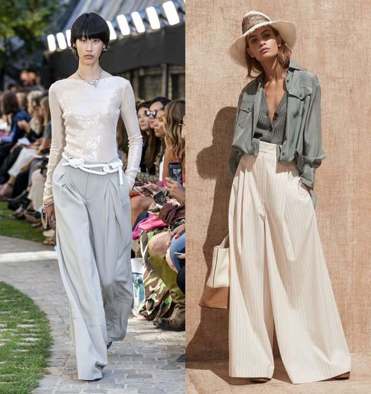 With what to wear palazzo pants: fashionable image ideas photo №4