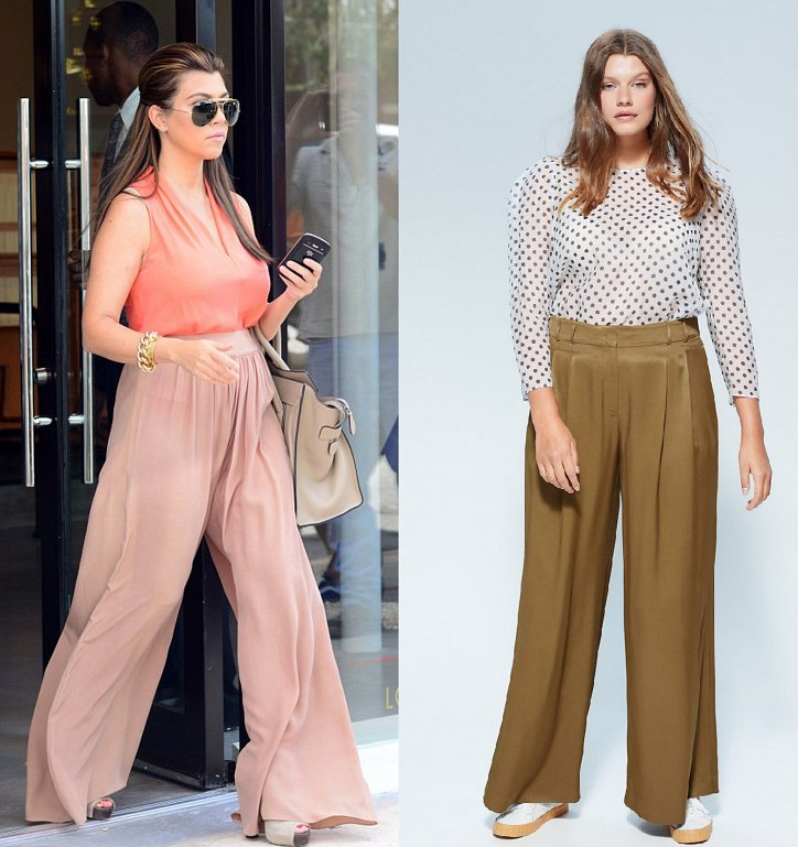 With what to wear palazzo pants: fashionable image ideas photo # 3