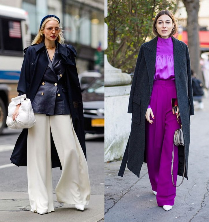 With what to wear palazzo pants: fashionable image ideas photo №7