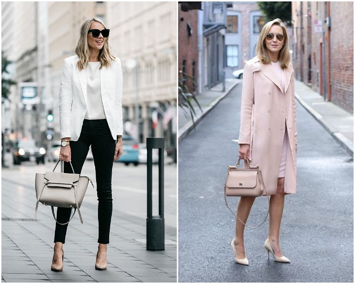 Beige high-heeled shoes - a must-have wardrobe photo # 2