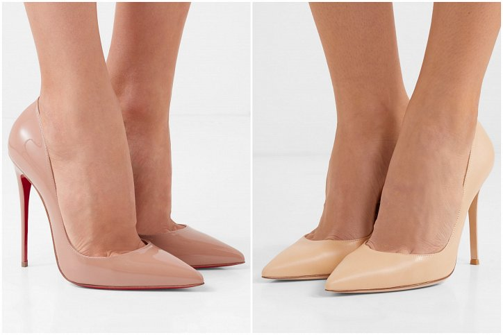 Beige high-heeled shoes - a must-have wardrobe photo # 7