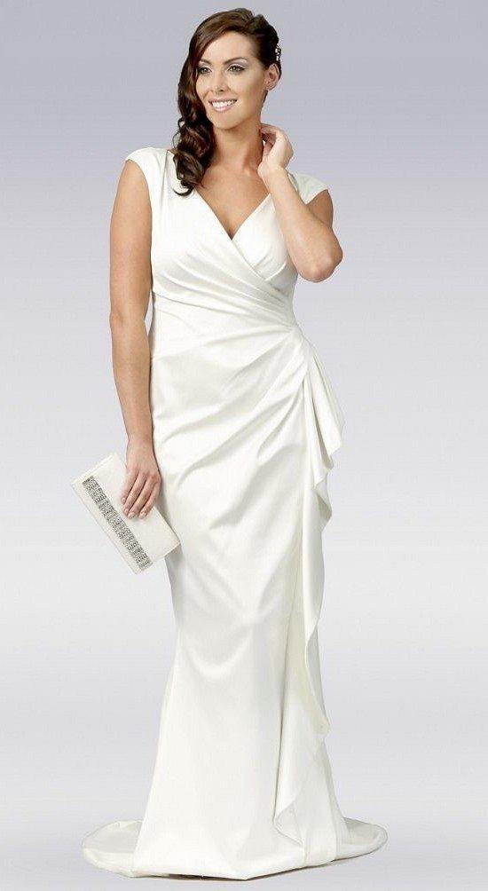 Wedding dresses for fat brides photo # 3
