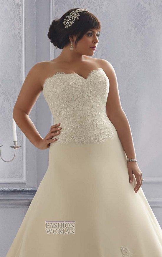 Wedding dresses for fat brides photo # 2