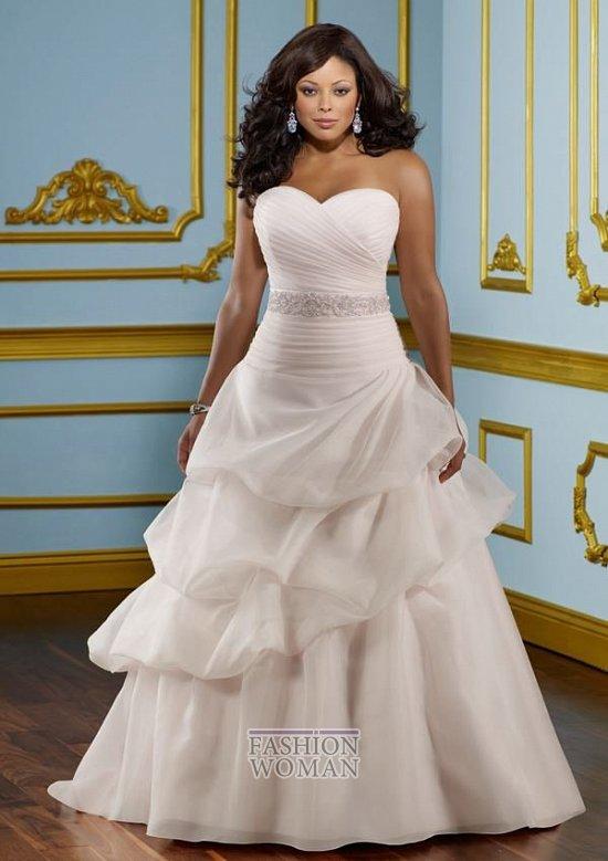 Wedding dresses for fat brides photo # 9