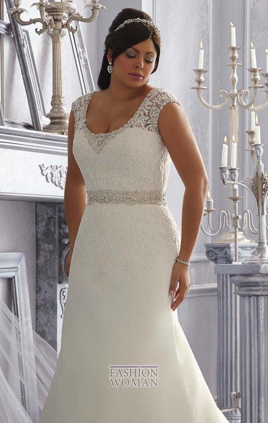 Wedding dresses for fat brides photo # 7