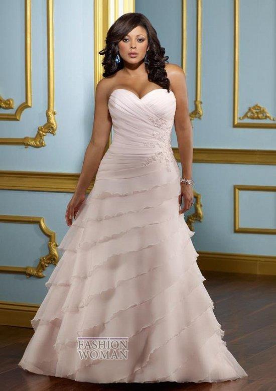 Wedding dresses for fat brides photo # 8